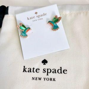 Last one! Kate Spade Hummingbird Stud Earrings